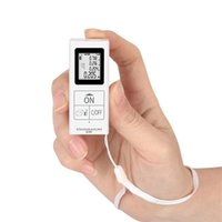 Bärbar mini handhållen laseravståndsmätare 35m Digital Rangefinder LCD-område Volymrum Mätningsområde Finnare 210728