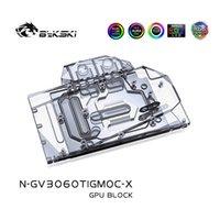 Fans Kühlungen BYKSKI Water Block Verwendung für Gigabyte RTX 3060 TI Gaming OC 8G GPU-Karte / Full Cover Kupfer Kühler