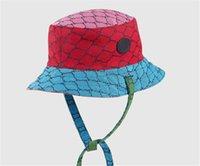 الأزياء الفاخرة دلو قبعة عكسية مصممين دلو قبعة شعبية رجل إمرأة شقة القبعات قبعات البيسبول