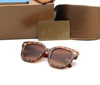 眼鏡デザイナーサングラス夏の反紫外線駆動偏光ガラスフルフレームの男性と女性のための豪華な眼鏡