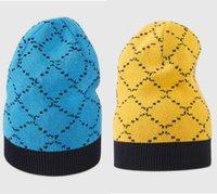 Designer beanie für frauen männer mützen kappe g marke herbst winter hüte sport strick hut verdicken warme lässig outdoor caps 6 farben