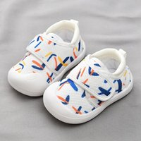 First Walkers Toddler Shoes Mixed Color Baby Girl Soft Sole Flat Sneakers Kids Boy Shoe Casual Sport SDY018
