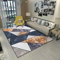 Halılar kapalı oturma odası geometrik kaymaz halı ev baskı dekorasyon alanı yatak odası başucu defne pencere kanepe mat