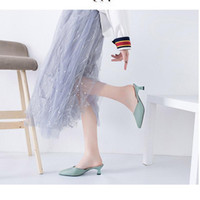 Dress Shoes Office Women's Heels Female High Women Casual Comfortable Summer Sandals Spring Chaussure Femme