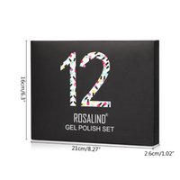 Nail Gel D0JF Polish Kit Soak Off 12 Colors 7 Ml All Seasons UV LED Nails Art DIY Manicure Use At Home Or Salon