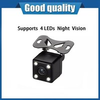 Cameras Car Rear View Camera Backup Reverse High Definition 4 LED Night Vision Parking 170° Wide Angle