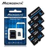2021 Micro SD-Karte 32GB 64GB 128GB Einzelhandelspaket SDXC / SDHC-Klasse 10 TF-Flash-Speicher 8GB 16GB Mini für Smartphone / Kamera
