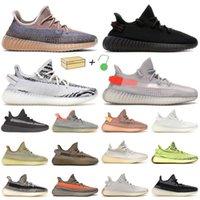 ZEBRA BRED Erkekler Koşu Ayakkabıları Kadın Kuyruk Işık Külotu Fade Karbon Statik Siyah Beluga Tereyağı Doğal Erkek Sneakers Eğitmenler 36-47