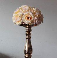 SPR 송료 무료 25cm * 10pcs 포매스 로즈 볼 웨딩 키스 플라워 볼 파티 / 홈 인테리어 꽃