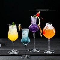 Vidros de vinho chumbo de cristal livre copo doce coquetel cocktails bebida copo transparente bar personalidade pessoal