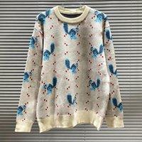 Sweathers Marca Mens Designers Blusas de Alta Qualidade Pullover Hoodie Manga Longa Camisola Suéter Bordado Knitwear P