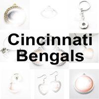 Équipe de football Cincinnati Sport Charms Bengal Dangle Hanging Charms Bracelet Bracelet Collier Bijoux Bijoux Accessoire Amérique Charms