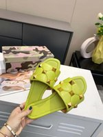 2021 Ladies Sandals Slippers Shoes Summer Girls Flip- flops S...