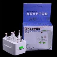 Adaptador de potencia de CA Universal International Travel World All In One DC Socket Charger Adaptadores