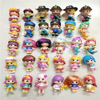 5 10pcs Detachable Pingypon Dolls for Kids Diy Doubleface Cartoon Action Toy Figures Toys Birthday Christmas Gift