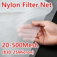Colanders & Strainers 20-500 Mesh Food Grade Nylon Filter Micron Kitchen Water Net Fabric Cloth Precisely Wine Beer Brew Colander