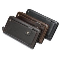 Wallets Luufan Men Wallet With Purse For Man Luxury Designer Gifts Clucthes Bag Genuine Leather Coin Phone Long