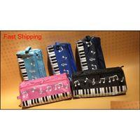 DHL SF _Express الموسيقى البيانو القضية مقلمة متعدد الألوان للماء القماش لوحة المفاتيح حقيبة رصاص jllixr home003