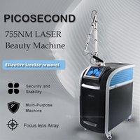 2021 Yeni Pico Lazer Skarları Temizleme Makinesi Lazer Dövme Qswitch ND YAG Lazer Picosecond Lazer Makinesi Pico Lazer Güzellik Ekipmanları Kaldır