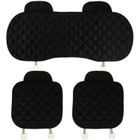 Car Seat Covers Black Set Breathable Universal Auto Cover Automobile Front Back Protect Pads Cushion Interior Accessories