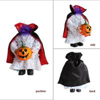 Decorazione di Halloween Nessuna testa Doll Pumpkin Dolls Ornament Ghost Festival Tricky Atmosphere Puntelli Decorazione Home Decor Decorazioni senza testa GWF9001