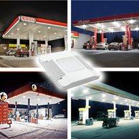 سوبر مشرق الأضواء led أضواء المظلة الغاز الوقود محطة الإضاءة في الهواء الطلق لضوء الملعب IP66 100-277V 3500K 4500K 5000K 60W 100W 150W Crestech