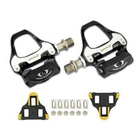 Bike Pedals 1 Pair Mountain Bicycle Self-Locking Bearings With Locking Buckle Anti-Slip MTB Pedal For Bicycles Parts Accessories