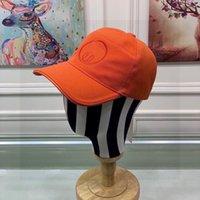 Simplicity Solid Color Broderie Lettre Polyatile Casquette Casquette Designers Caps Caps Chapeaux Mens de base Baspe de baseball Femmes 2021