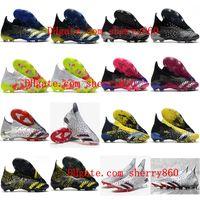2021 축구 신발 Mens Predator Freak.1 FG Cleats 쇼 피스 + Crampons de Football Boots