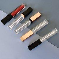 5ML Глянцевая трубка для губ Пустая пластиковая прозрачная бутылка для губной губной губной губной губной помады. Образцы помады. Косметическая контейнер