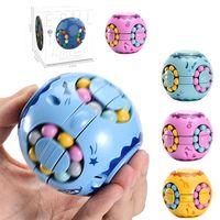 Em stock Streen-forma Magic Cube Creative Brinquedo 360 graus rotação Economizar dinheiro Potenciômetro clássico brinquedos Hamburger cubos presente de aniversário para crianças