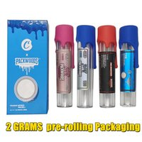 Packwoods Pre-Rolling Top Shelf Preroll Tubes Glass Bottle Gift Packaging Box Dry Herb Joints Pre Roll Premium Infused 2 Grams Flower Filter Wrap Packing 11 strains