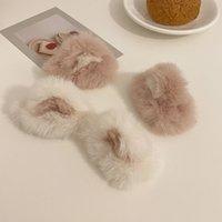 Sweet Cute Cat Ear Hairpins Girls Fashion Elegant Plush Hair Pins Autumn Winter Festival Beautiful Headwear Hair Accessories