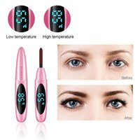Electric Heated Eyelash Two-speed Constant USB Charge Makeup Curling Kit Long Lasting Natural Eye Lash Curler Beauty Tool