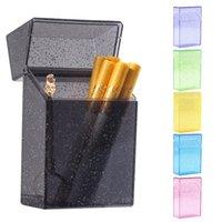 Boîtier de cigarette de tabac de tabac de tabac de plastique coloré de plastique de plastique coloré