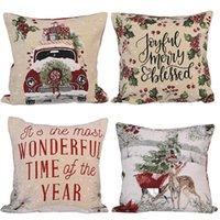 """18 """"бросить подушку охватывает рождественские декоративные диван наволочка корпус квадратную подушку крышку для дивана диван кровать автомобиль JK2009XB"""
