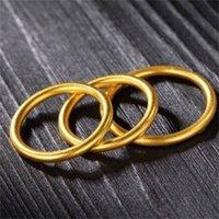 Anello d'amore in acciaio inox dorato con anello di gioielli di cristallo femminile anello da sposa promessa promessa box di fidanzamento spedizione gratuita 200 y2