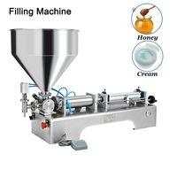Yogurt Jam Gel Paste Filling Machine Piston Type Single Head Filler Semi Automatic Quantitative Divider