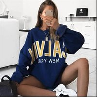 Men Women Autumn Thick Loose Sweatshirt Harajuku Letters Pri...
