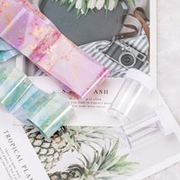 Stickers & Decals Marble Series Nail Foil Gradient Starry Sky Transfer Sticker Paper DIY Tips Decoration