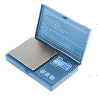 جديد ملفات تعريف الارتباط الجديدة جيب مقياس الرقمية الأحمر الأزرق 700 جرام 0.1 جرام مجوهرات الذهب التبغ stash الوزن vapes القياس جهاز الوجه نمط EWD7587