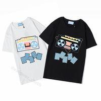 2021 Womens Herren Designer T-shirts Brief Frame Gedruckt Mode Frauen T-Shirt Baumwolle Casual Tees Kurzarm Luxe Tshirts