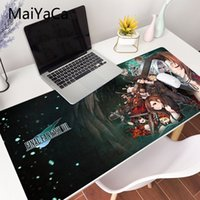 Final Fantasy Mouse Pad Best-seller Gamer Mousepad Giocatore Gaming Mats Large Blocco Side Mouse Pad PC gioco Computer Desk Tappetini Y0308