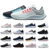 Nike Air Zoom Pegasus 38 scarpe da corsa da uomo Bianco Nero Flash Crimson London Greedy Aurora Verde Lupo Grigio uomo donna scarpe da ginnastica sneakers sportive