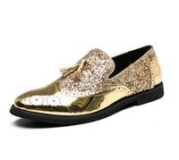 Newest Men luxurys Dress Shoes Designer Business Office Lace-Up Retro Genuine Leather Oxford Shoe for Mena big size