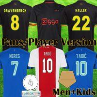 2021 Tadic Berghuis Gravenberch Soccer Jersey Amsterdam Kudus Promes Haler Neres Cruyff Klaassen 21 22 Ajax Bob Marley Men Kid Kit Football Shirt Maillot 999