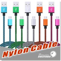 USB2.0 TYPE C Micro Cables 3Ft Nylon Braided A Male B Data Sync Fast Quick Charge Charger Cord for Android Samsung Galaxy S21 S20 Note20 Ultra S8 A52 HTC LG G8 V50, eppioneer