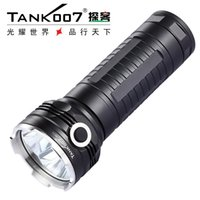 TANK007 RC11 CREE XM-L-U2 2000 LUMEN 5 MODOS LED recargable de alta potencia para búsqueda en exteriores por 3 * 18650 Batería