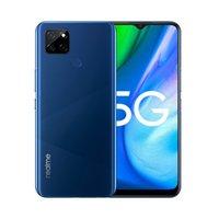 "Original Realme Q2I 5G Mobiltelefon 4 GB RAM 128GB ROM MTK 720 Android 6.5 ""Vollbild-LCD 13MP 5000mAh-Gesichts-Fingerprint-ID-Handy"