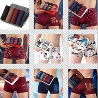 10 Color Ethika Mens Design Ropa interior Boxer Shorts Mens Hot Masculino Ropa interior Hombres Boxer Boxer Botpants Cómodo transpirable Cuecas Boxer